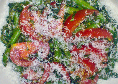 Tomato Green Bean Salad