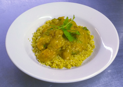 Winter Squash Curried Chicken