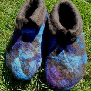 Purple Womens Slippers