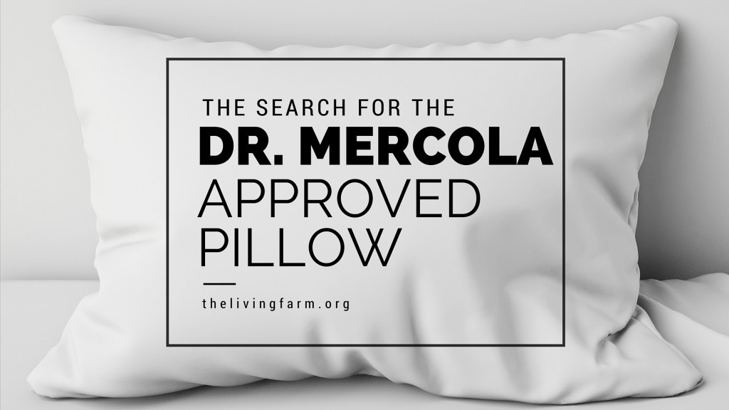 Dr Mercola Pillow Search