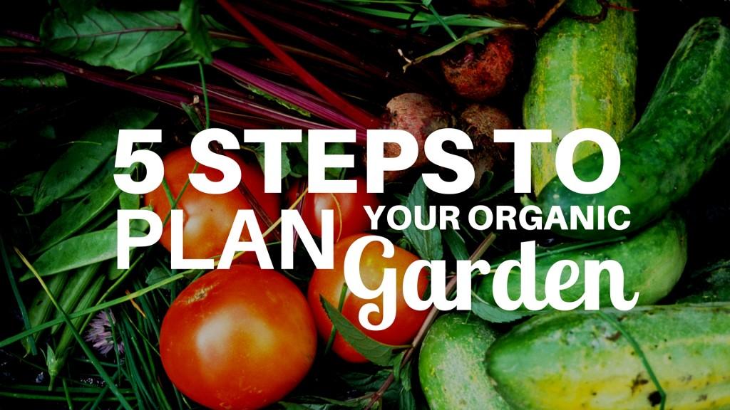 5 easy steps plan garden