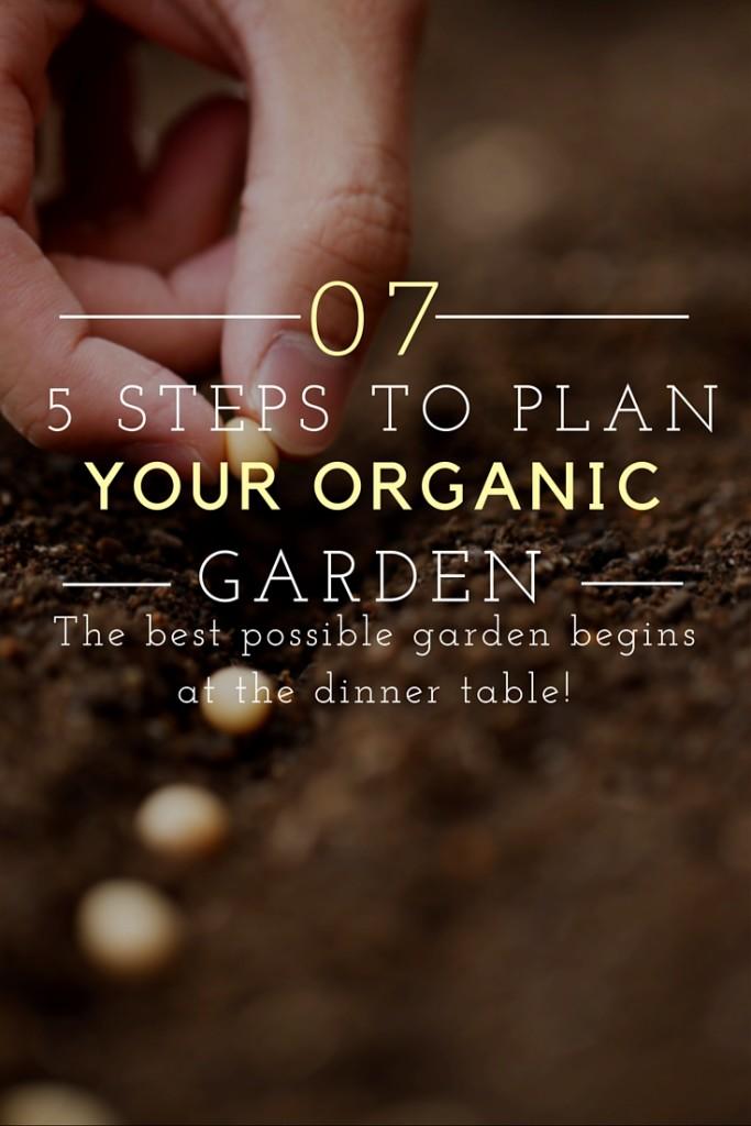 Plan Organic Garden