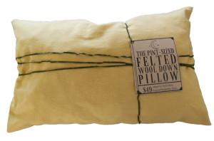 Pint Sized Wool Pillow