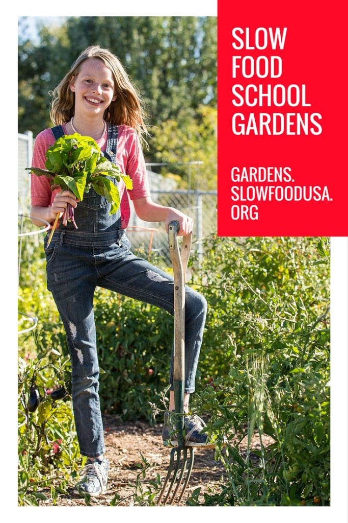 Slow Food Gardens - Pinterest